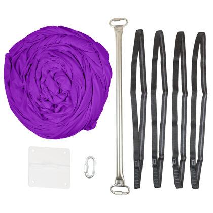 SET 3 - hamaka, 4x smyce, rozpěrná tyč, 1x stropní závěs